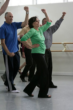 Dance therapy for mind body medicine