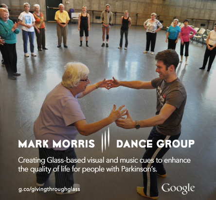 Giving Through Glass Mark Morris Dance Group